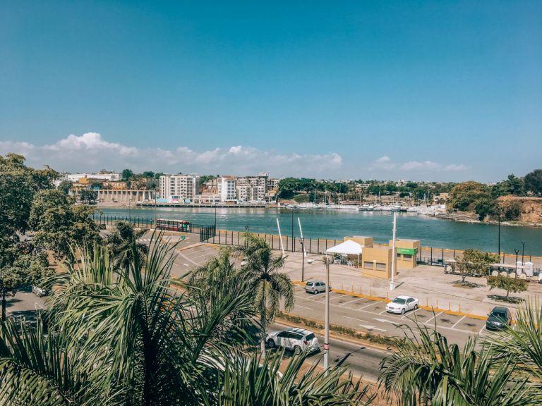 Вид на Санто-Доминго с Испанской площади