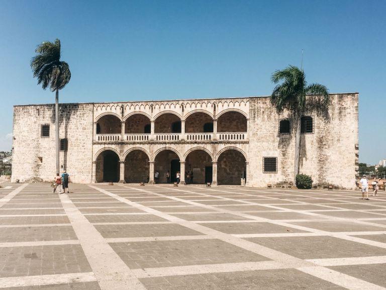 Санто-Доминго. Alcázar de Colón