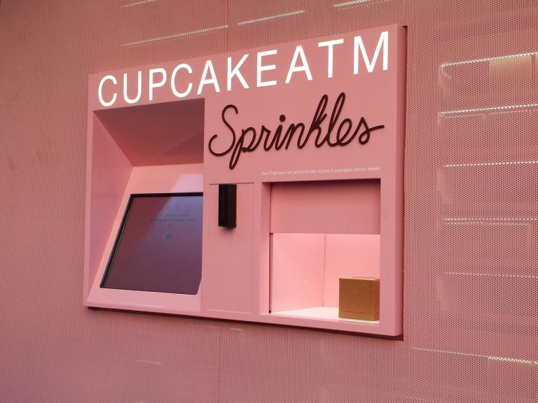 Розовый ATM Sprinkles Лас-Вегас Стрип