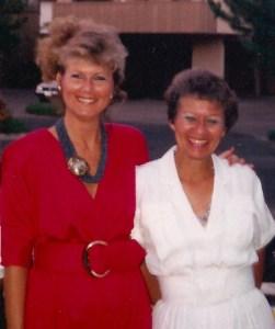 Catherine & Liz 1988