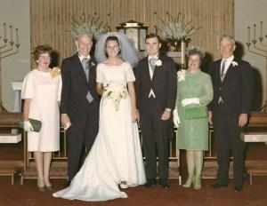 Wedding photo Cath & Bob