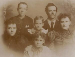 Chamberlin siblings 1896, Denver, Colorado
