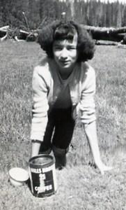 Carleen mushroom hunting