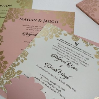Sikh Wedding Invitations