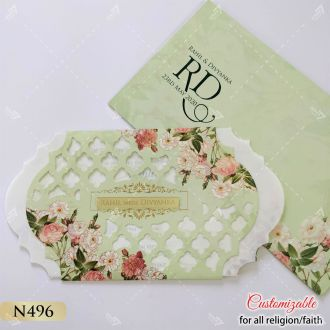 floral theme the most popular wedding card of 2020