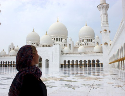 Guide Abu Dhabi Grad Mosque