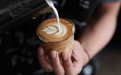What is a flat white coffee?