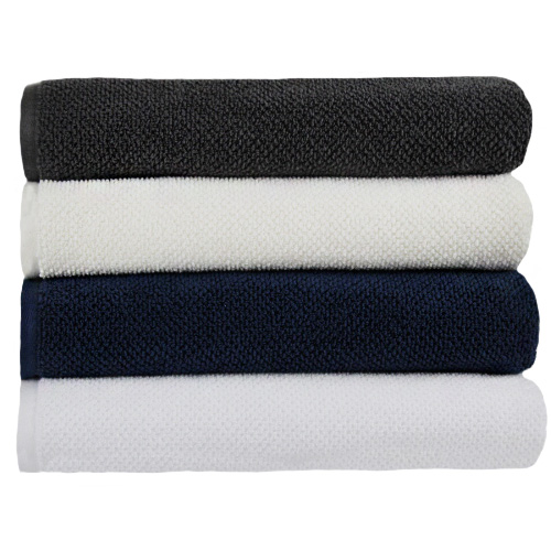 Multi Colored Face Towel Stack