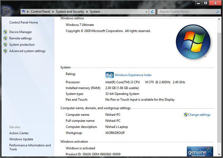 Windows Service Pack 1 Update For Windows 7