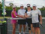Mixed doubles 2014-15