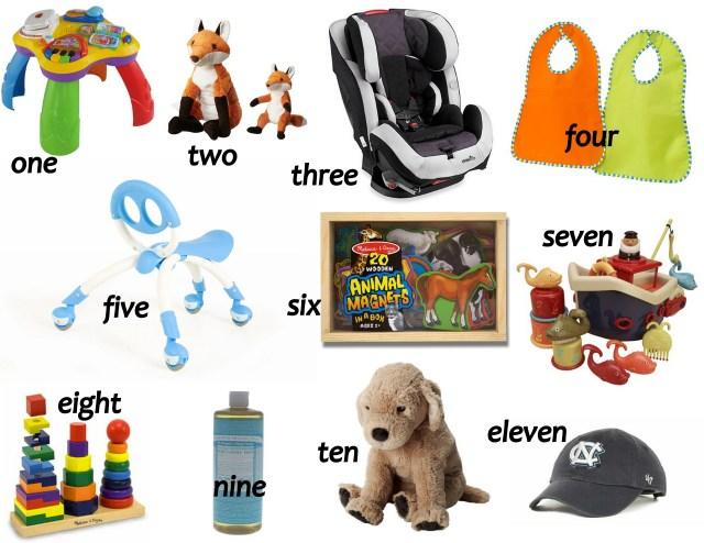 early toddler favorites