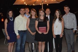 Abbie grad - family pic