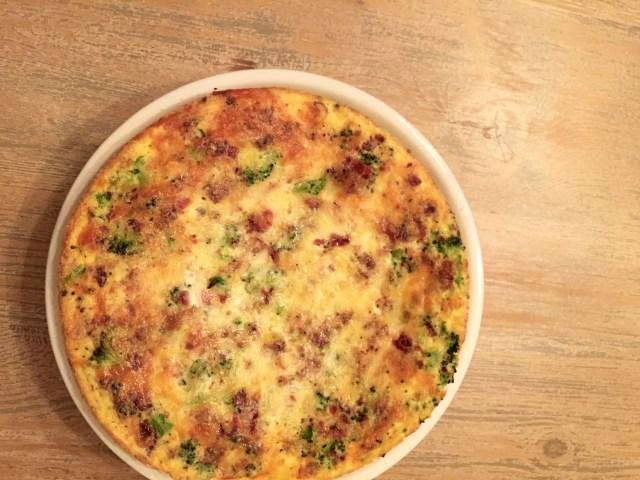 frittata recipe; breakfast for dinner
