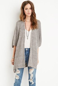 draped open cardigan from Forever 21