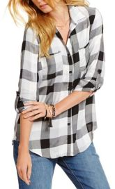 black and white shirt for Fall