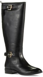 tall black riding boots for Fall and Winter