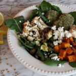 Winter Vegetable & Falafel Bowl