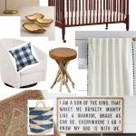 Baby Boy Nursery Ideas for a Rustic, Classic, Modern Look