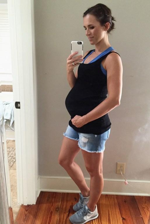 Asos maternity shorts