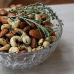 Sweet and Spicy Herb Roasted Nuts