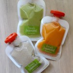 Homemade Baby Squeeze Pouches
