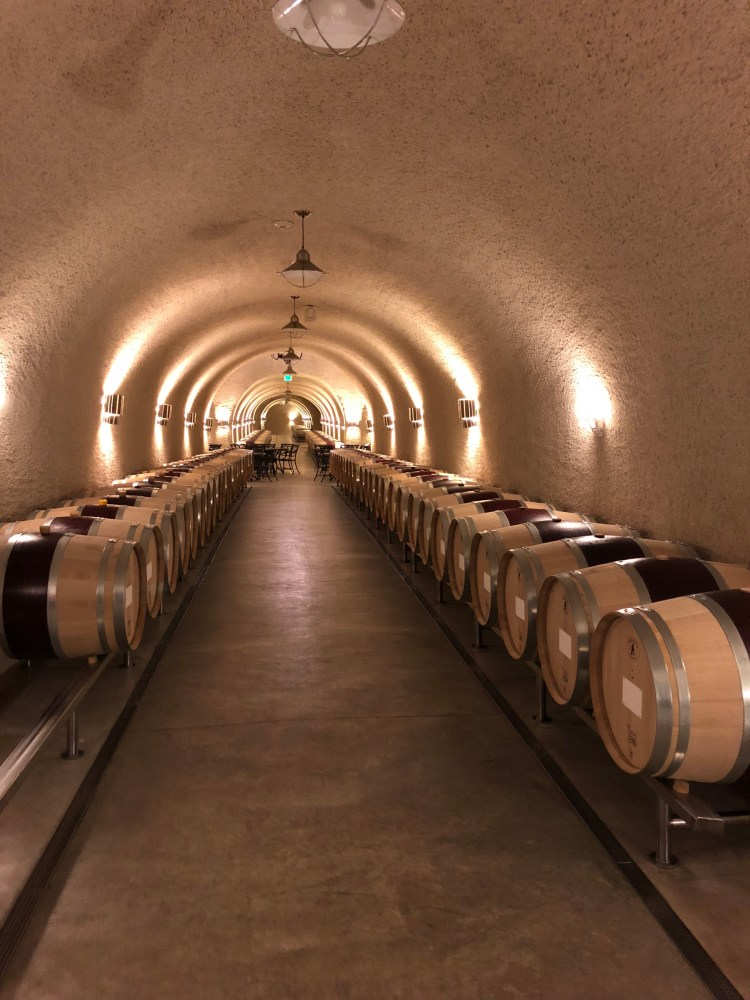 Palmaz Winery; our trip to napa valley and san francisco