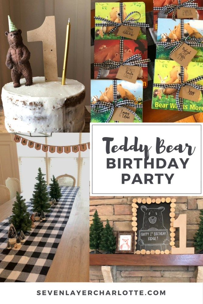 how to throw a teddy bear birthday party