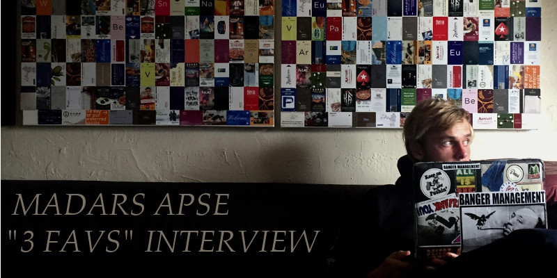 "Madars Apse ""3 favs"" Interview"