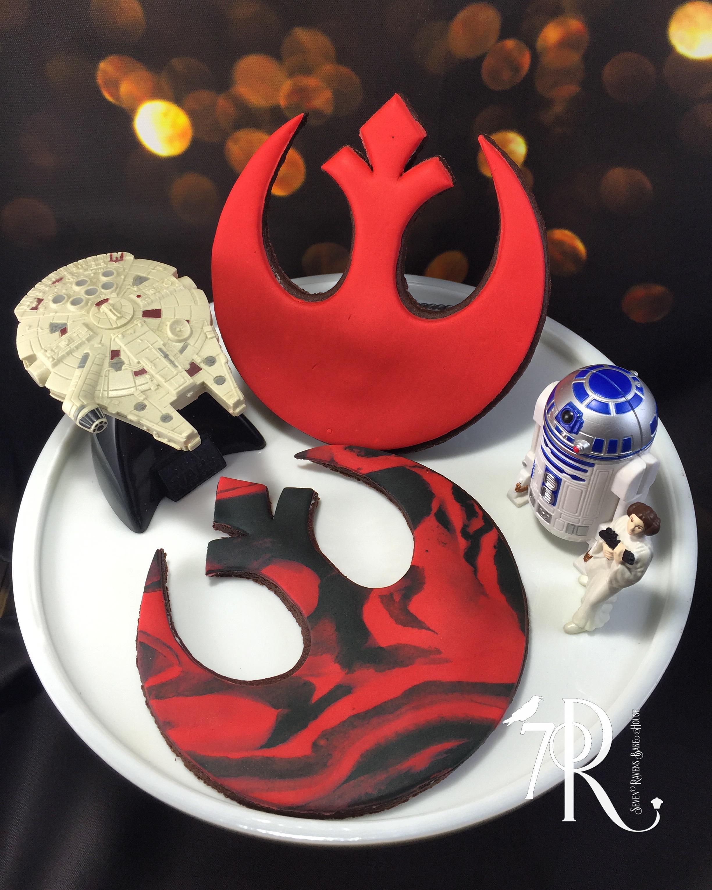 Star Wars Rebel Alliance Sigil Cookie