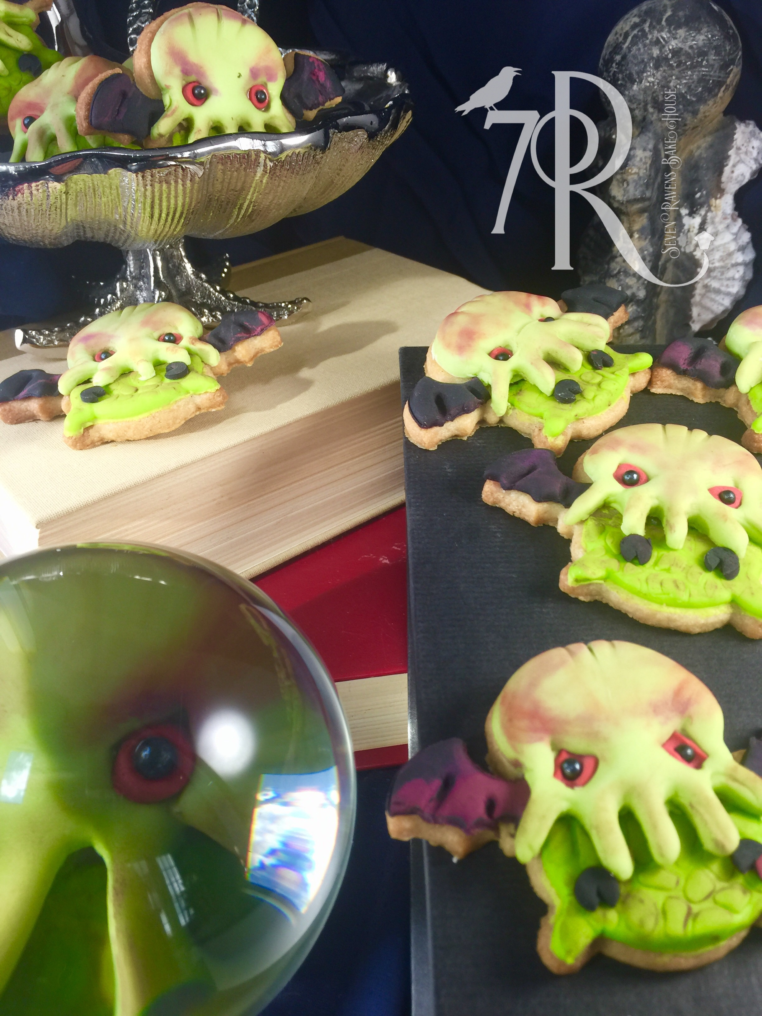 Baby Cthulhu Cookies