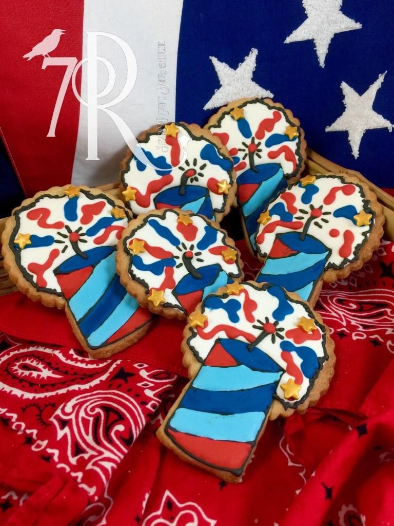 4th of July Firecracker cookie