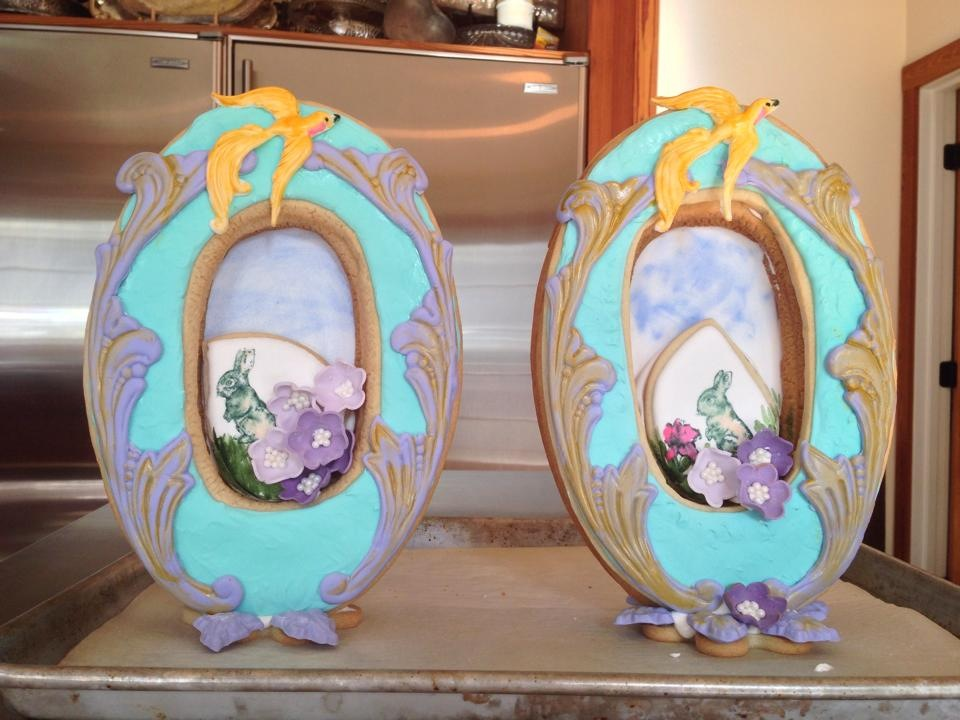 Deluxe Easter Framed Cookies