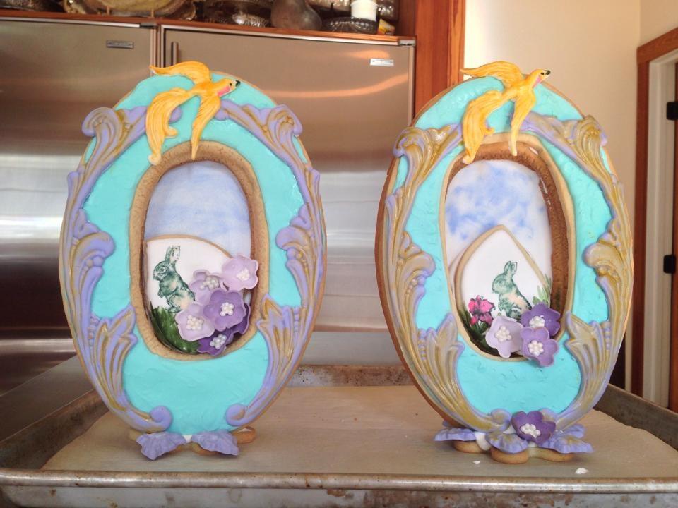 Deluxe Easter Framed Cookies