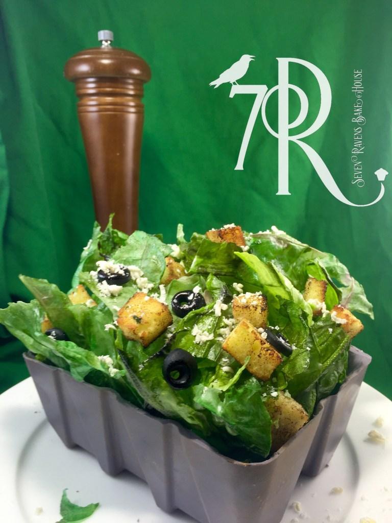 Wafer paper lettuce funfetti cake