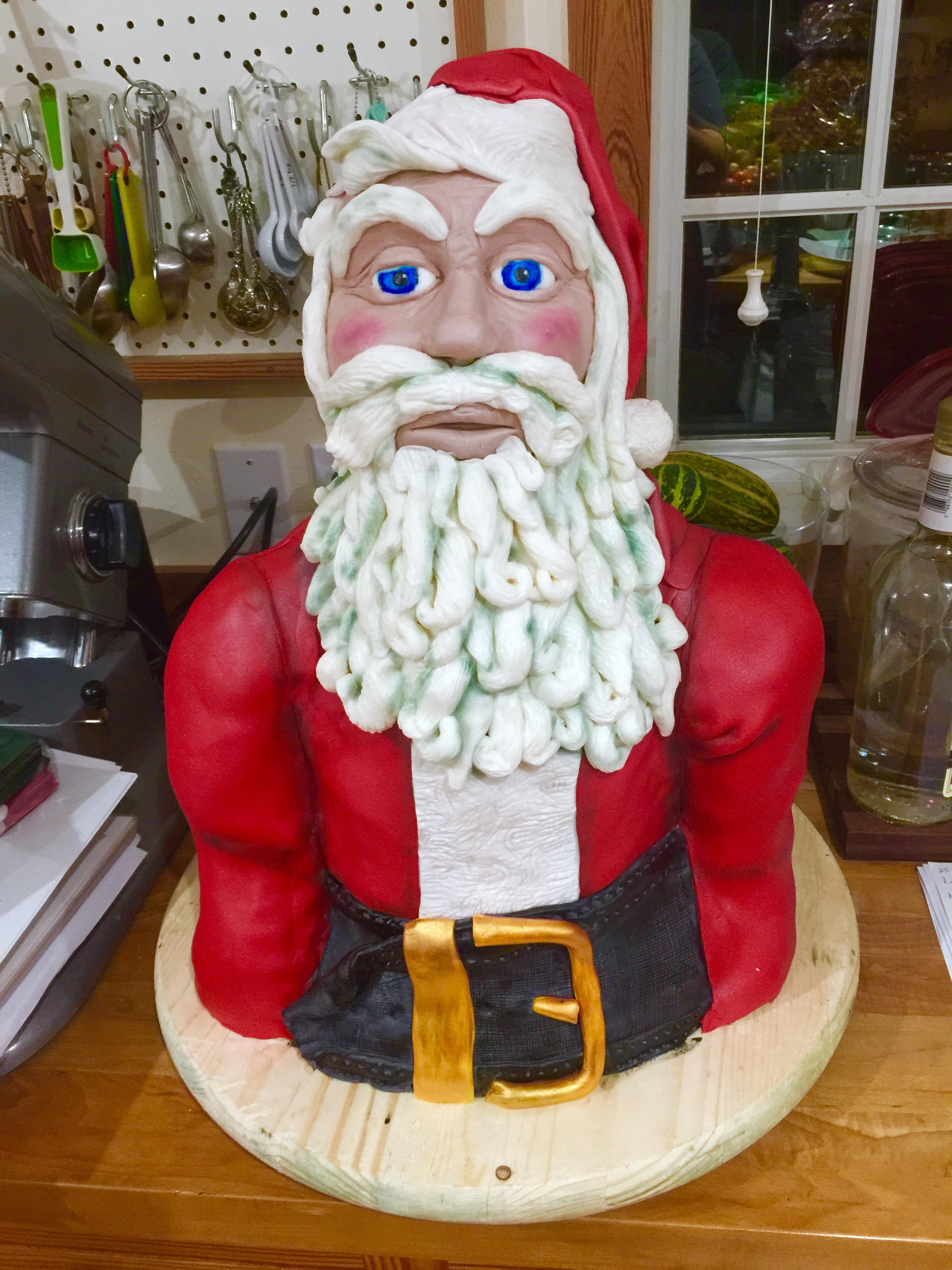 Christmas Santa Claus Cake