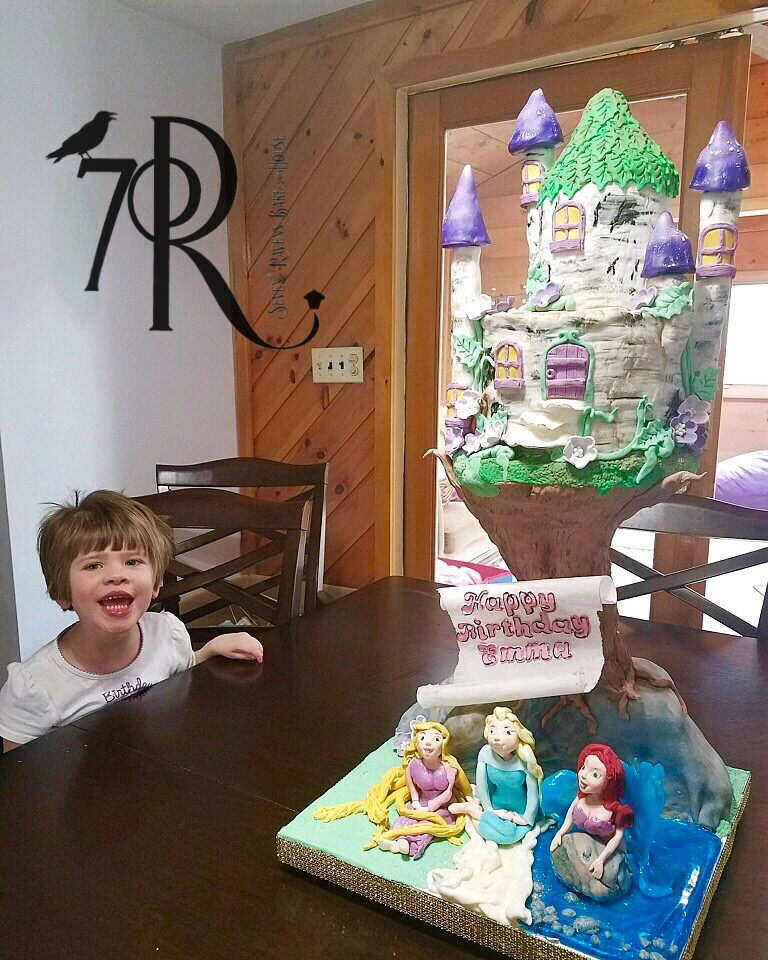 Castle Cake for Icing Smiles