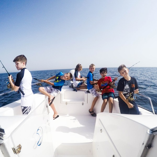 charter deep sea fishing