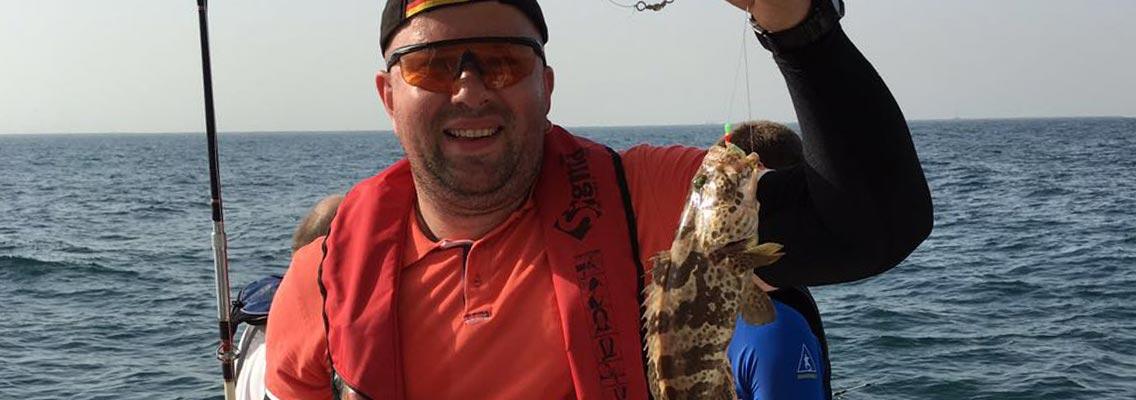 bottom fishing in dubai. rent boat for fishing