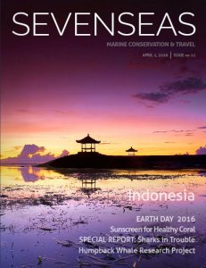 indonesia april 2016 sevenseas media issue cover marine conservation and travel