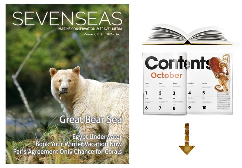 Sevenseas media october table of contents