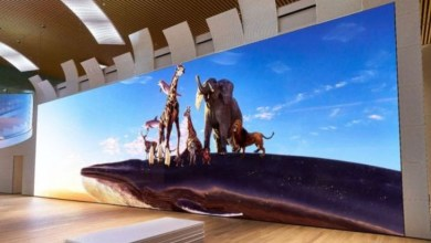 Photo of Sony has created a 63-feet super-resolution TV, its passenger bus width