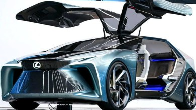 Photo of Lexus introduced the concept e-car LF-30, will come from the parking lot to pick up the owner