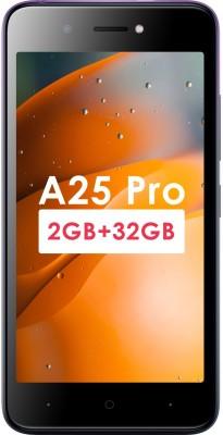Itel A25 Pro (Gradation Purple, 32 GB)(2 GB RAM)