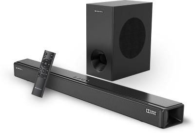 ZEBRONICS ZEB-JUKE BAR 9800 DWS Pro Dolby Atmos With Wireless Subwoofer 450 W Bluetooth Soundbar(Black, 2.1.2 Channel)