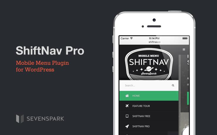 Shiftnav Pro v1.5 – Responsive WordPress Mobile Menu Plugin