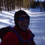 Winter Trail Running over four miles round trip