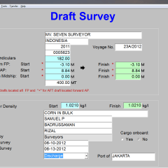 Draft Survey Software Review