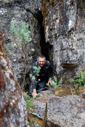 Jeremy, hiking Paramo de Oseta