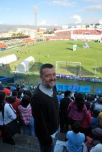 Football match, Ambato, Ecuador