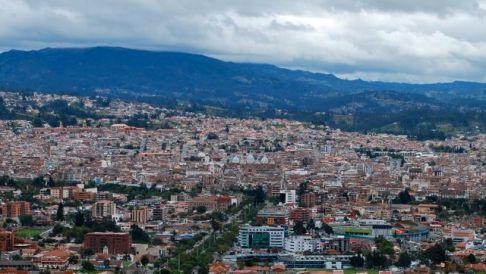 Cuenca view, Ecuador